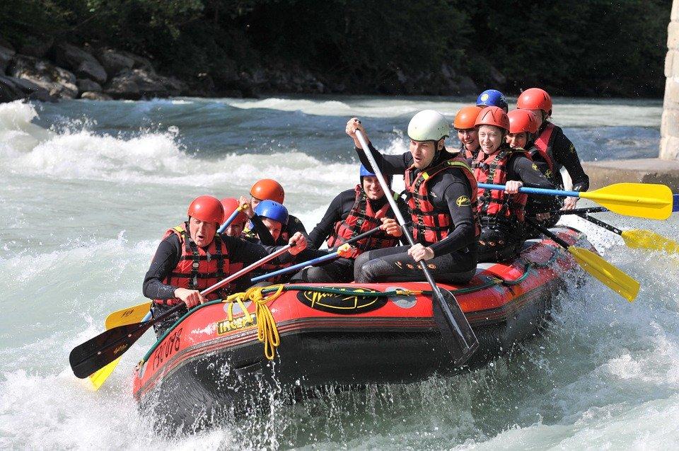 vodáctví (rafting)